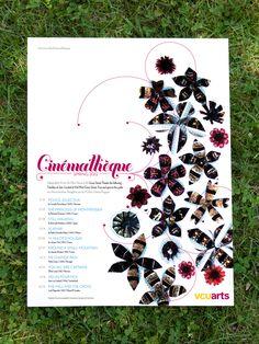 Cinémathèque Poster  www.cassandraellison.com #GraphicDesign #NewPlumeDesign #RVA