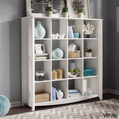 Bush Furniture 'Aero' 16-cube Bookcase - Overstock Shopping - Big Discounts on Office Storage & Organization