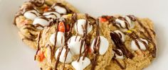 Imagine your favorite sundae flavor in cookie form, and you've got the idea behind this clever recipe. It's easy to fix in a flash with Betty Crocker peanut butter cookie mix and some flavorful add-ins.
