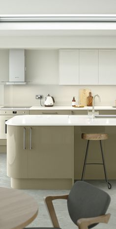 A Cool And Streamlined Kitchen From Kit+kaboodle At Homebase. A Kitchen  Full Of