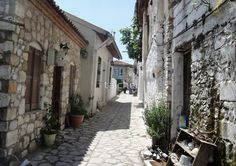 The Cobbled BackStreets Surrounding Old Marmaris