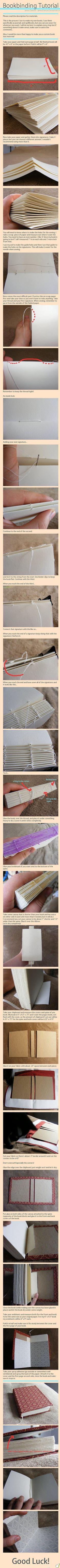 How to: book-bind   como hacer un libro ;)