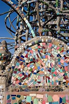 The Watts Towers · Los Angeles, California - Simon Rodia