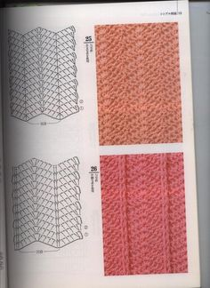 Crochê e tricô da Fri, Fri´s crochet and tricot Crochet Ripple, Crochet Diy, Crochet Gratis, Granny Square Crochet Pattern, Crochet Diagram, Crochet Stitches Patterns, Crochet Chart, Crochet Basics, Crochet Motif