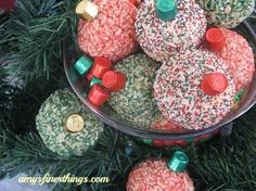 Rice Krispy Treat Ornaments (with recipe)