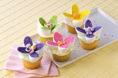Marshmallow Cupcake Decorations