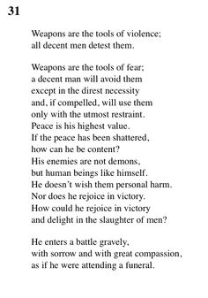 31 Tao Te Ching - Lao Tse (Lao Tzu) Fear Quotes, Truth Quotes, Some Quotes, Wisdom Quotes, Chuang Tzu, Taoism, Buddhism, Tao Te Ching, Sun Tzu