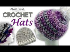 Crochet Got Spirit Hat - How to Crochet the Got Spirit Hat Red Heart Pattern LW2924 - YouTube