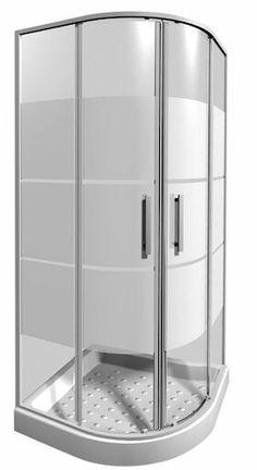 Elegantný a praktický štvrťkruhový sprchovací kút s dvojdielnymi posuvnými dverami so stripe dizajnom, s veľkosťou 80x80 cm, výškou kúta 1900 mm, hrúbkou pevnej steny 5 mm, posuvnej steny 4 mm z bezpečnostného skla s povrchovou úpravou JIKA perla Glass a s ložiskovými pojazdmi. Tento kút je vďaka svojmu modernému a funkčnému dizajnu vhodnou voľbou do každej kúpeľne. Lava, Divider, Room, Furniture, Home Decor, Bedroom, Decoration Home, Room Decor, Rooms