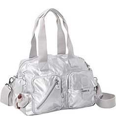 Kipling Defea GM - Silvery Metallic - via eBags.com!