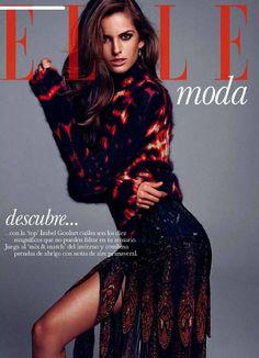 Elle Spain Editorial September 2014 - Izabel Goulart by Xavi Gordo - FASHION INDUSTRY ARCHIVE