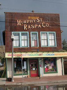 Old Valadez Grocery Store Alpine TX  Originally the Alpine Furniture Company  Currently the Murphy St Raspa Company