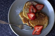 Start your morning with these tasty Oatmeal Pancakes.