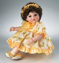 Marie Osmond Dolls Retired | 27) Yellow Rose of Texas Tiny Tot (2005) - AP # 1 - Starting Offer: $ ...