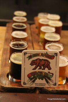 Bear Republic: Healdsburg, CA Beer Crafts, Craft Beer, San Francisco Sights, Candle Jars, Mason Jars, Famous Wines, Sonoma County, Paddles, Brewing Company