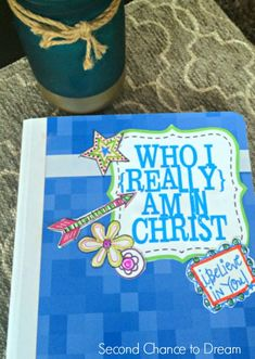Second Chance to Dream: Who I am in Christ Journal Printables Make a journal with these colorful printables. #lifelessons #whoIaminChrist