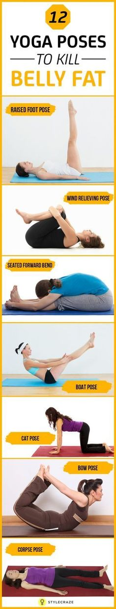 12 yoga poses to kill belly fat