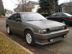 1985 Honda Civic CRX Pictures: See 40 pics for 1985 Honda Civic CRX. Browse interior and exterior photos for 1985 Honda Civic CRX. Get both manufacturer and user submitted pics. Honda Crx, Honda Civic, First Car, Japanese Cars, Bella, Motors, Passion, Magic, Nice