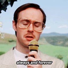 Haha~ Kip singing his wedding song~ Napoleon Dynamite