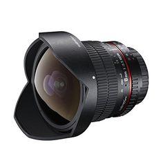 Walimex Pro 8 mm 1:3,5 DSLR Fish-Eye II Objektiv für Canon EF-S Objektivbajonett schwarz (mit abnehmbarer Gegenlichtblende) - http://kameras-kaufen.de/walimex-pro/walimex-pro-8-mm-1-3-5-dslr-fish-eye-ii-objektiv-fuer-s