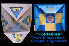 Foldables are such a fun way to communicate our learning. Here are some awesome ones at www.rainbowswithinreach.blogspot.com