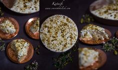 Kataifi   It is a delicious dessert which is like baklava and is very popular among Greek, Turkish and Middle Eastern nations