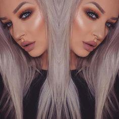 Highlight + Blush + Copper + Eyelashes