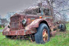 Old Autocar by robtm2010, via Flickr