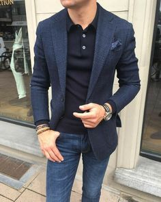 If you are in the market for brand new men's fashion suits, there are a lot of things that you will want to keep in mind to choose the right suits for yourself. Below, we will be going over some of the key tips for buying the best men's fashion suits. Blazer Outfits Men, Mens Fashion Blazer, Stylish Mens Outfits, Suit Fashion, Mens Blazer Styles, Blue Blazer Outfit Men, Stylish Menswear, Men's Outfits, Fashion Pants