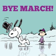 Bye March months snoopy april hello april goodbye march welcome april hello april quotes Snoopy Cartoon, Snoopy Comics, Peanuts Cartoon, Peanuts Snoopy, Charlie Brown Christmas, Charlie Brown And Snoopy, Snoopy Love, Snoopy And Woodstock, Hello March