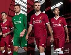 The Liverpool 17-18 kit introduces a clean look that is set to leave supporters in awe.