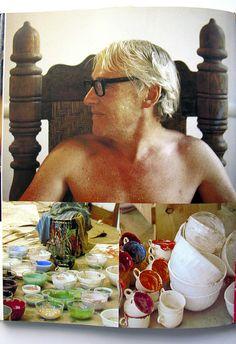 Willem de Kooning by Linda McCartney by warymeyers blog, via Flickr