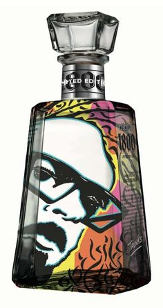 1800 Tequila and Proximo Spirits Inc. Create Alcoholic Art trendhunter.com