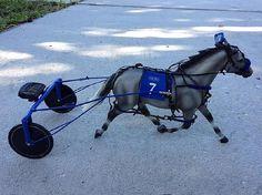 model horse Harness Racing Set - Breyer