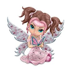 The Hamilton Collection Fairy Figurine: Hope Sparkles Fairy Pictures, Cute Pictures, Fantasy Creatures, Mythical Creatures, Kobold, Amy Brown, Gothic Fairy, Fairy Figurines, Baby Fairy