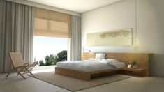 The master bedroom is the right place to empty the mind of thoughts and relax | Discover more zen bedroom ideas: http://masterbedroomideas.eu/