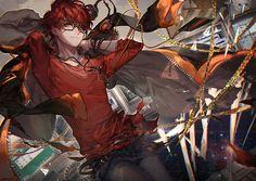 Mystic Messenger || Saeyoung Choi aka seven. Zero. Seven Defender of Justice ⚠⚠  河CY sketchblog : 画像