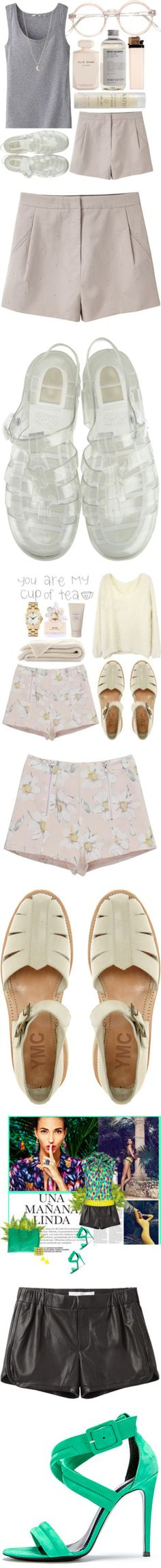 """Thinking Ahead: Shorts and Sandals"" by polyvore-editorial on Polyvore"