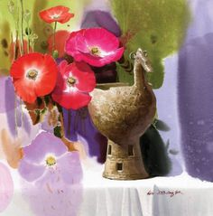 "Fine Art and You: Korean Watercolor Painter ""Shin Jong Sik"""
