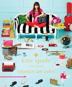 """Book Corner: """"Kate Spade New York: Things We Love"""" Celebrates 20 Years with Knowing Whimsy"""