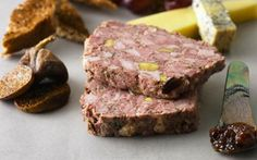 A traditional coarse country pâté is so easy to make though it does take a little time. This one comes from Chef Lionel Strub originally from France.