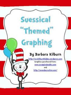 """Suess"" themed graphing activities"