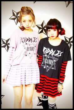 Amo/Ayamo - my fashion girlcrushes from Japan