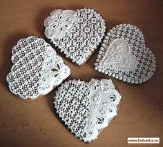 Valentine Cookies, Holiday Cookies, Valentines Day, Lace Cookies, Sugar Cookies, Bolacha Cookies, Sugar Lace, Heart Cakes, Royal Icing