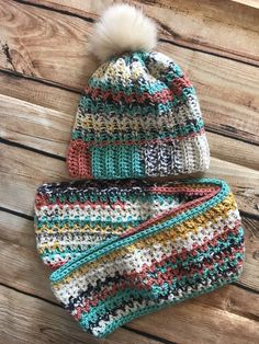 Handmade Beanie With Matching Infinity Scarf  fashion  clothing  shoes   accessories  unisexclothingshoesaccs 84e47c0070fc