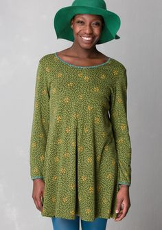 """""""Britt-Marie"""" tunic in lyocell/cotton – Blouses & waistcoats – GUDRUN SJÖDÉN – Webshop, mail order and boutiques 
