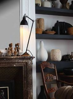Nothing found for Collecties La Lampe Gras Eclectic Living Room, Living Spaces, Living Room Inspiration, Interior Inspiration, Daily Inspiration, Decorating Your Home, Interior Decorating, Classic Fireplace, Lampe Gras