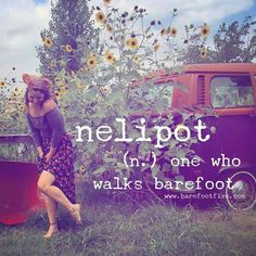 ☮ American Hippie ☮ Barefoot