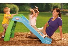 2e726c427 Little Tikes First Slide Blue - The Little Tikes First Slide is the ideal  beginner. Toddler Outdoor ...