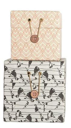cajas estampados - Shop Nordico